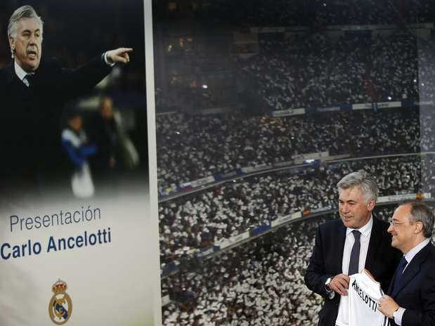 Ex-PSG, técnico comemorou chegada ao ''clube mais tradicional do mundo'' Foto: Reuters