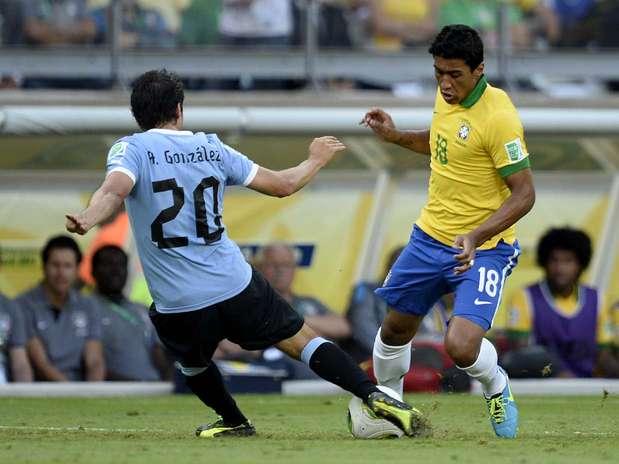 Brasil x Uruguai foi visto por mais de 53 milhões de pessoas, segundo Fifa Foto: Ricardo Matsukawa / Terra