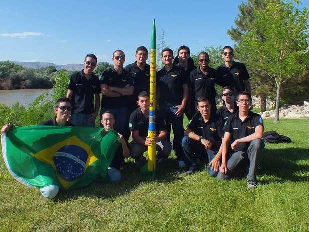 Equipe de alunos do ITA venceu competição de foguetes nos EUA Foto: Divulgação