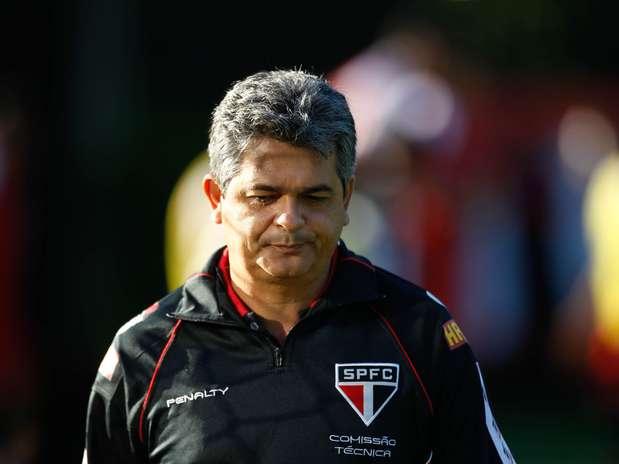 Ney Franco foi demitido após derrota para o Corinthians na Recopa Sul-Americana Foto: Fernando Dantas / Gazeta Press