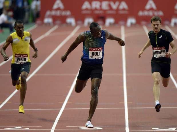 Agora Bolt temmelhor marca do ano na prova Foto: AFP