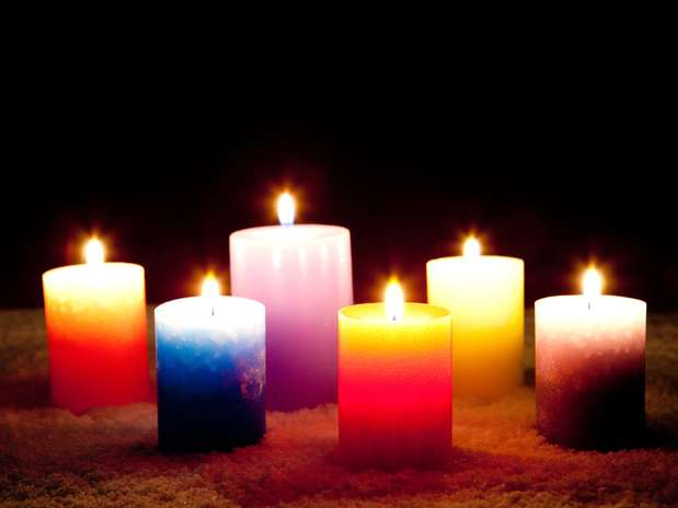 Segundo feng shui, chama da vela aquece e ilumina Foto: Getty Images