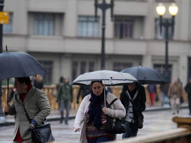 São Paulo registroi as menores temperaturas dos últimos anos Foto: Elisa Rodrigues / Futura Press