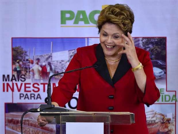 Dilma Rousseff irá participar de programas de TV para recuperar popularidade Foto: Fernando Borges / Terra