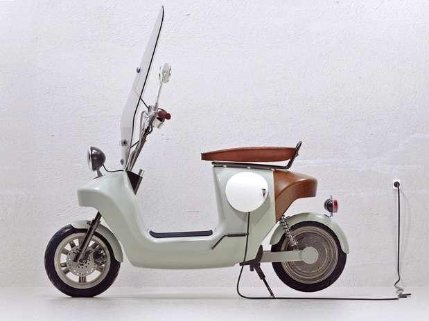 Be.e é o protótipo de uma moto ecológica Foto: Divulgação