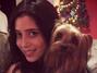 Gabriela Belota e cachorro da família.png. Foto: Divulgação