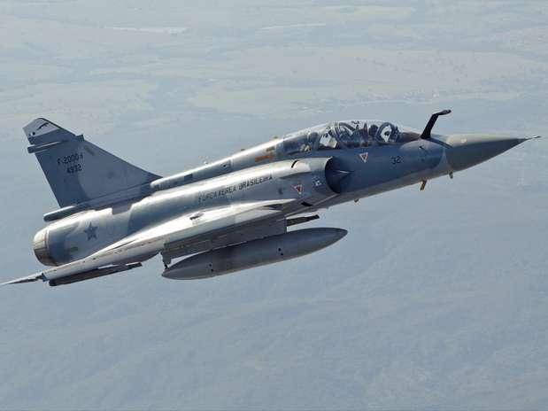 Caças Mirage-2000 serão desativados no final de dezembro pela Força Aérea Brasileira Foto: Agência Força Aérea / Divulgação