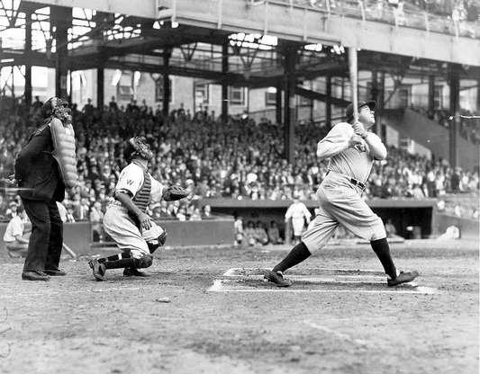 Golpeo de Babe Ruth