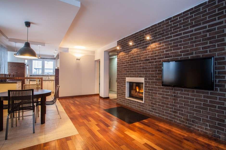 tijolo vista d charme r stico ao ambiente veja. Black Bedroom Furniture Sets. Home Design Ideas