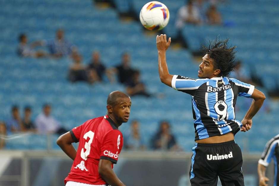 Marcelo Moreno pode dar adeus ao Grêmio nos próximos dias Foto: Lucas Uebel / Grêmio FBPA