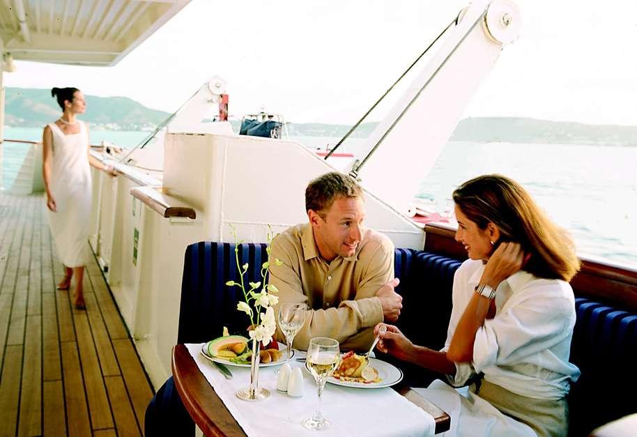Atividades foram implantadas em 2014 e seguem neste ano com oito viagens Foto: SeaDream Yacht Club/Divulgação
