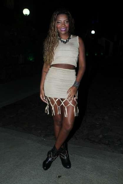 Anitta comemorou seuaniversário de 22 anos com festa lotada de famosos no Rio, na última segunda-feira (30) Foto: Agnews
