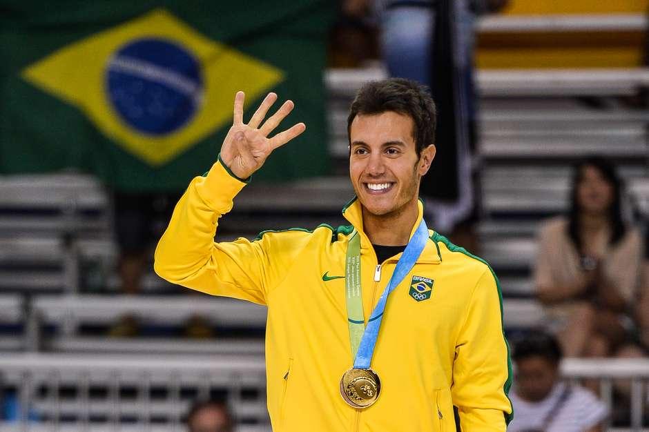 Marcel Stürmer voltou a comprovar a sua superioridade e venceu o ouro da patinação artística nos Jogos Pan-Americanos de 2015, em Toronto. O atual campeão mundial é, agora, tetra pan-americano Foto: Eduardo Palacio / Terra