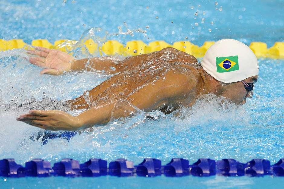 Brasileiros se destacaram novamente na natação e se despedem do Pan-Americano de Toronto; veja imagens do último dia de competição Foto: Osmar Portilho / Terra