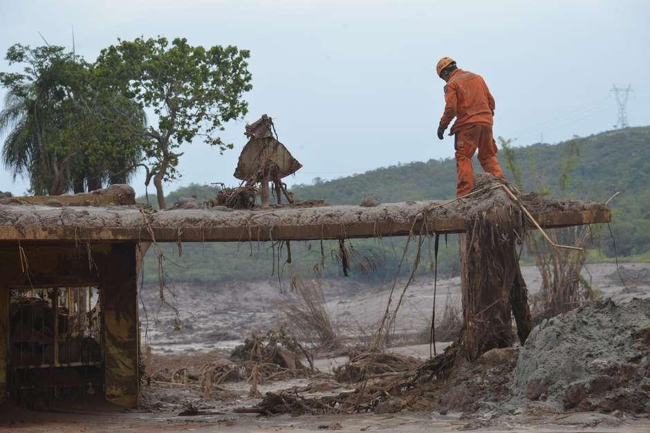 Veja como está Bento Rodrigues após rompimento de barragens Foto: Antonio Cruz/ Agência Brasil