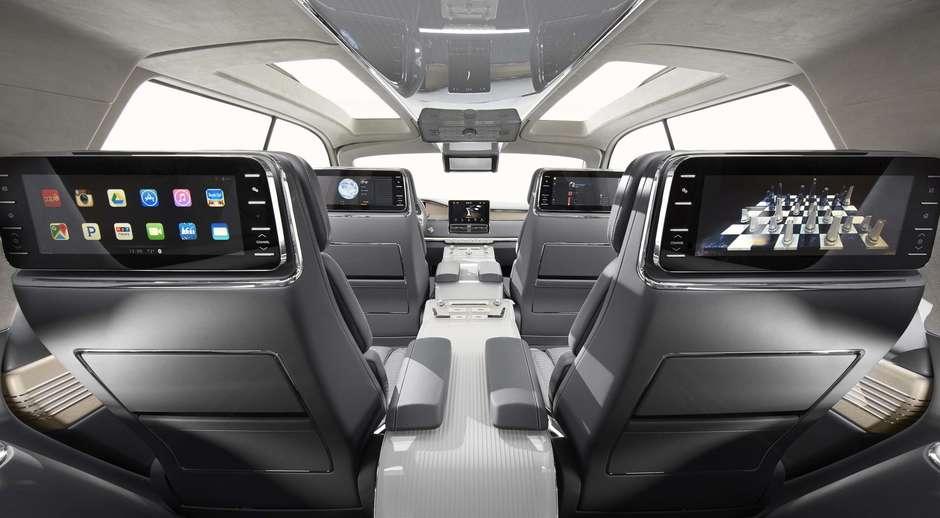El prototipo Lincoln Navigator. Foto: Lincoln