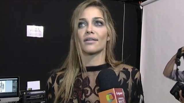 """Ana Beatriz Barros conta """"sufoco"""" que teve com Gianecchini na passarela"""