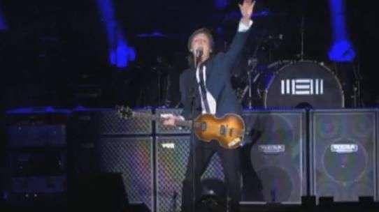Oi Sampa! Paul McCartney recebe o público em português em SP