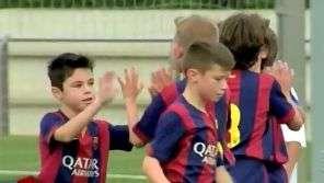 Te cuida Messi! Veja 5 golaços da categoria de base do Barça