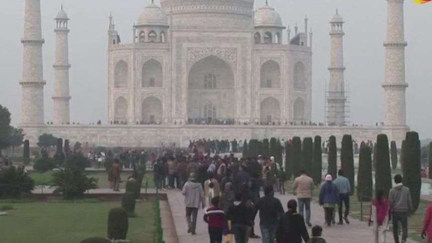 Índia: Taj Mahal e ruas são limpos para receber Obama