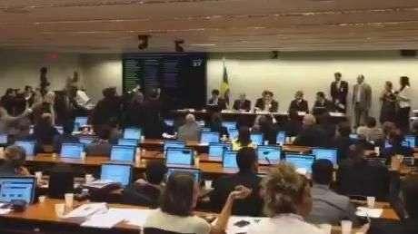 Deputados batem boca na CPI da Petrobras