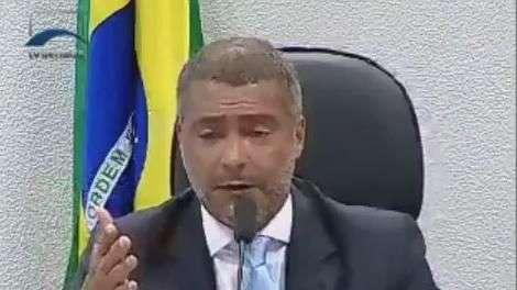 """Romário lembra eleição da Fifa: """"queremos Blatter preso"""""""
