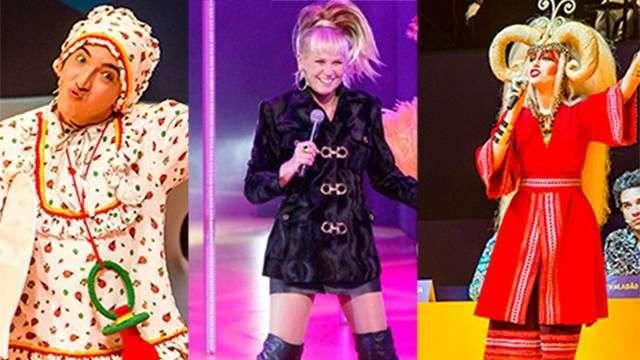 Atores comentam improviso de Xuxa em 'Chacrinha - O Musical'