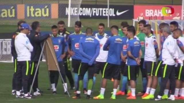 Neymar lidera primeiro treino da Seleção para a Rio 2016
