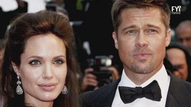 Brad Pitt e Angelina Jolie se separam até na cera