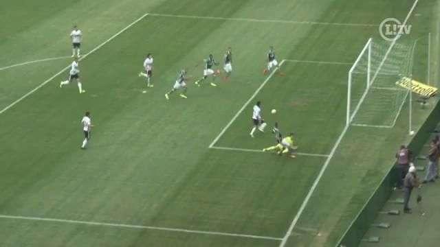 Palmeiras faz bela jogada ensaiada no segundo gol contra o Coritiba