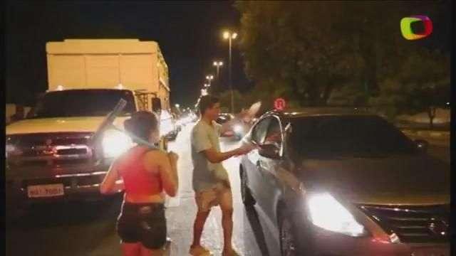 Boa Vista: imigrantes venezuelanos tomam conta dos semáforos