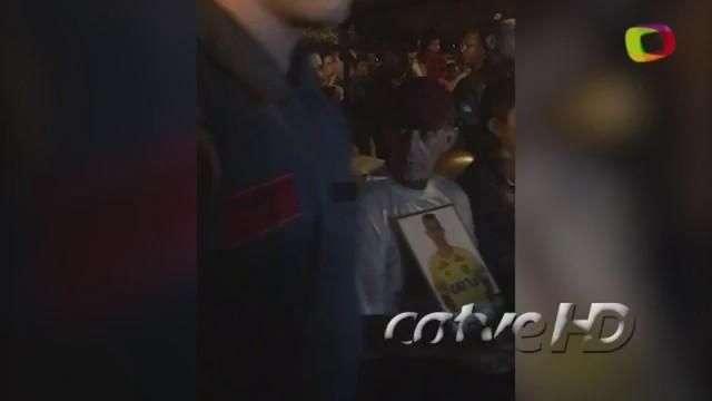 Corpo do goleiro Danilo chega em Cianorte durante a madrugada