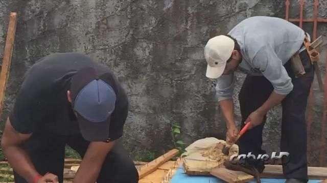 Morador se emociona ao ter que deixar casa no Bairro Gramado
