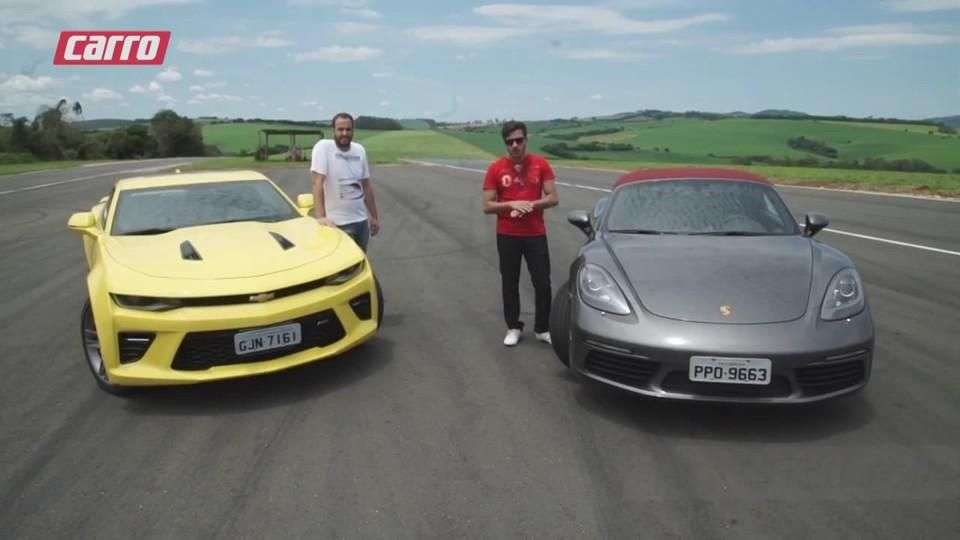 Camaro x 718 Boxster | COMPARATIVO | CARRO