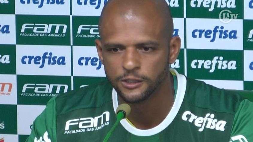 Felipe Melo rebate crítica e não nega dar porrada se preciso