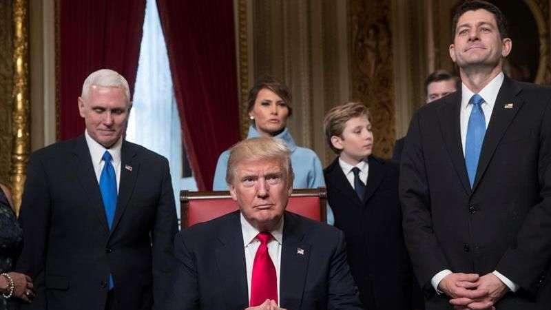 Trump toma posse como 45º presidente dos EUA