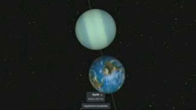 Descoberto sistema estelar com 7 planetas similares à Terra