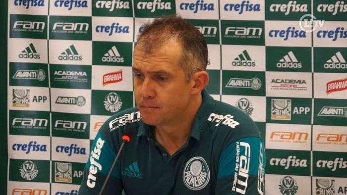 Eduardo Baptista diz que faltou velocidade para o Palmeiras com um a mais no Dérbi