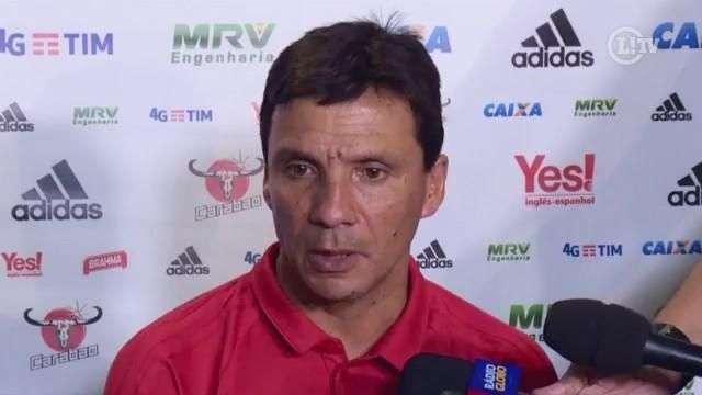 Zé Ricardo afirma que vitória em clássico dá confiança ao Flamengo