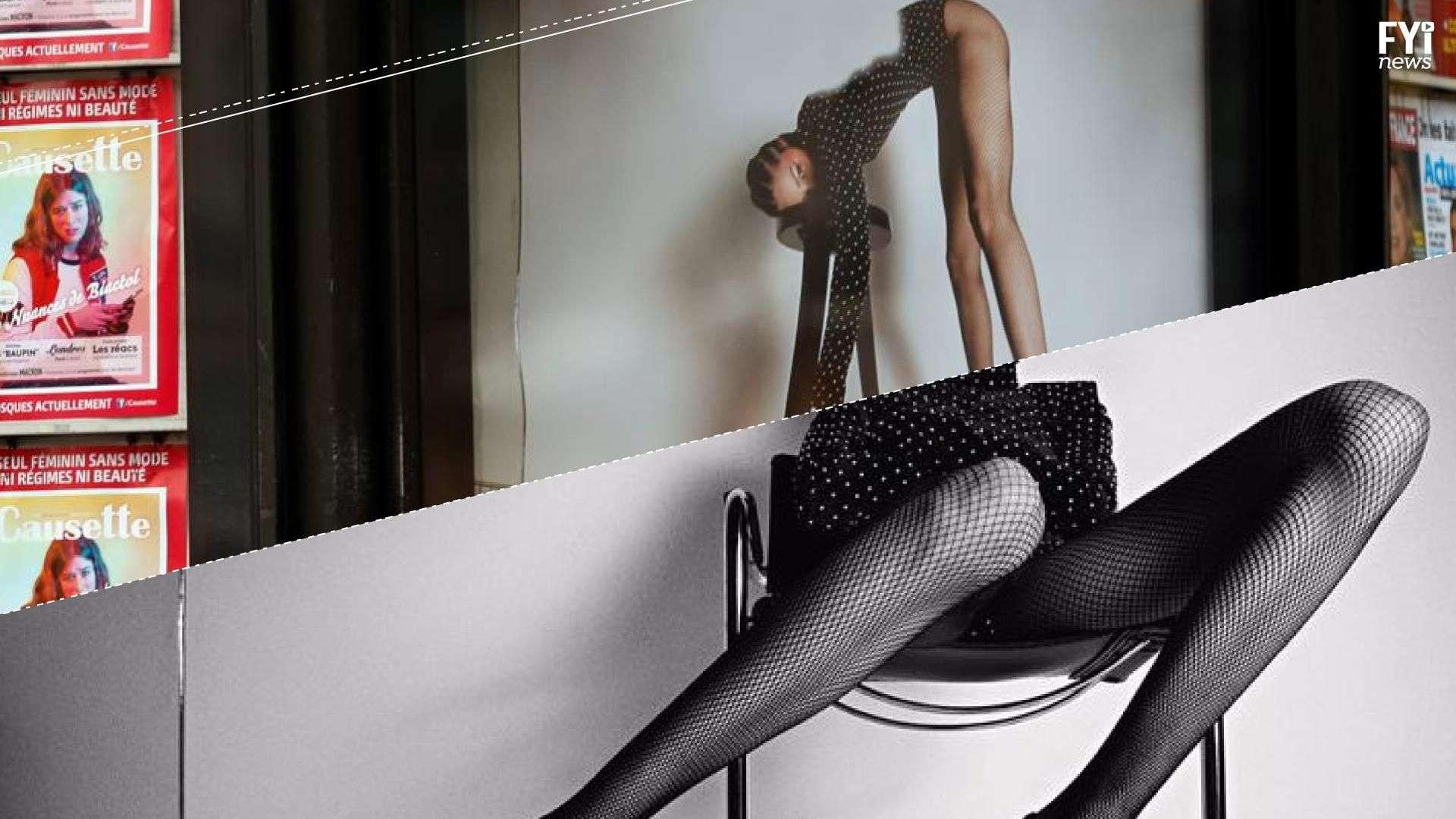 Campanha publicitária da Yves Saint Laurent gera polêmica