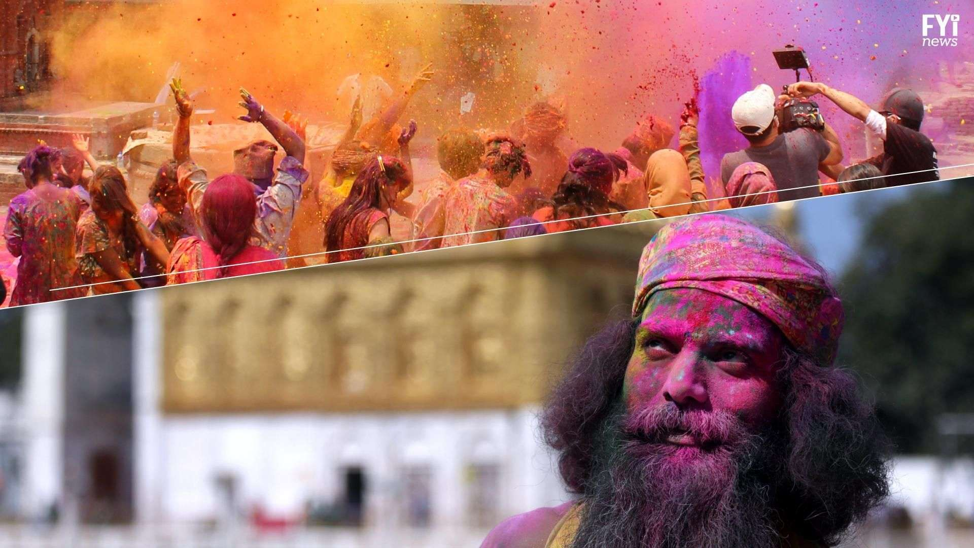 O festival Holi faz tributo à igualdade