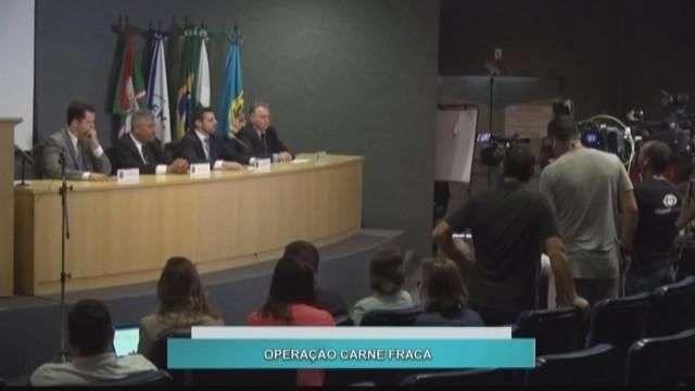 Operação Carne Fraca cumpre mandados em todo Paraná