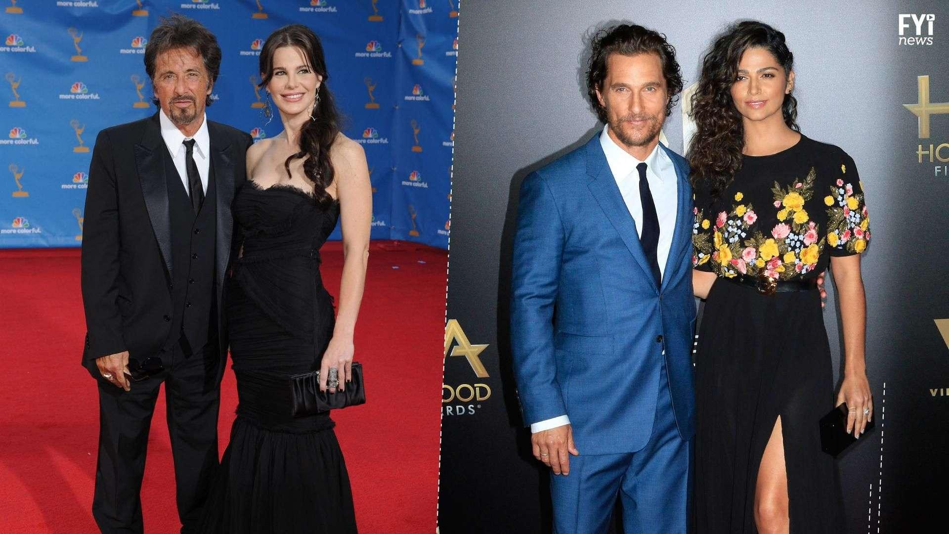Latinas que conquistaram atores em Hollywood