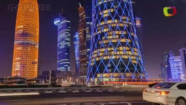 Doha: riqueza e opulência no Golfo Pérsico