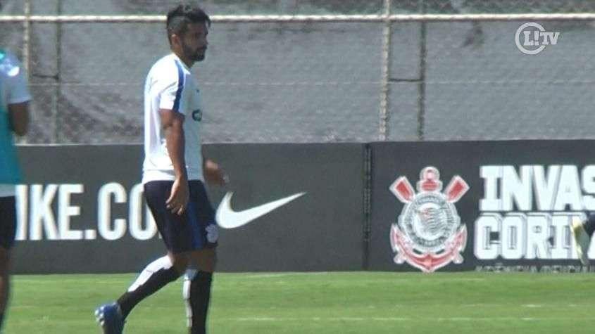 Só deu ele! Guilherme faz quatro gols em treino do Corinthians