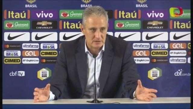 Tite destaca maturidade da Seleção em vitória contra Paraguai