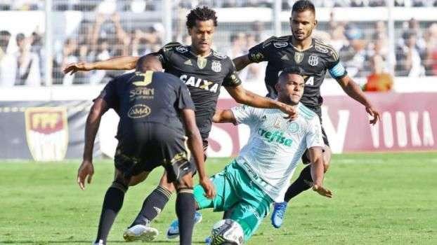 Ponte Preta domina o jogo e abre vantagem expressiva contra o Palmeiras