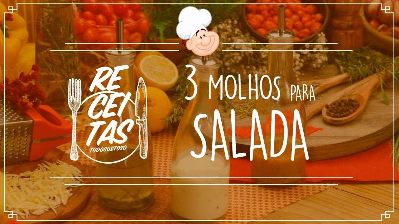 Confira receitas de três molhos de salada deliciosos