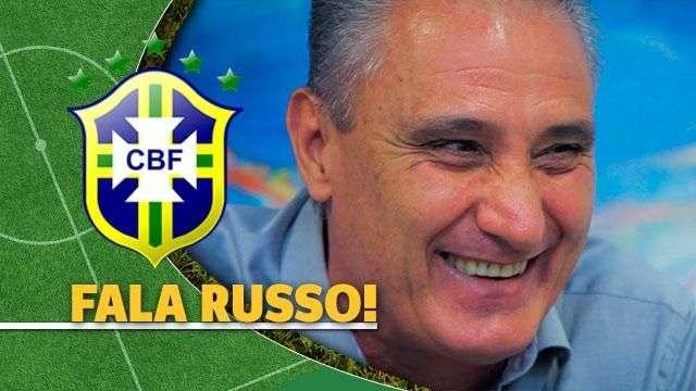De olho na Copa, Tite quer aprender russo e diz que Neymar 'é o melhor' que já comandou