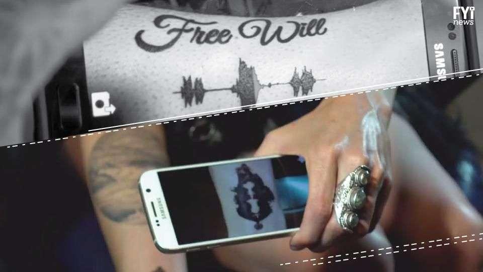 A tatuagem que emite som!